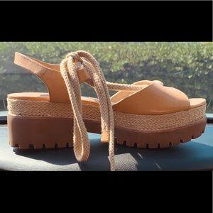 Michael Kors chunky platform sandals